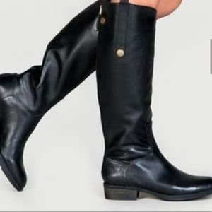 Sam Edelman Penny riding boots in black
